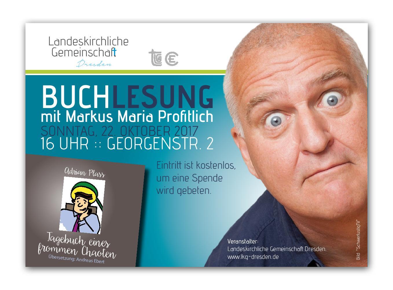 Buchlesung Markus Maria Profitlich
